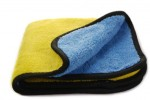 Car Care Accessories- Mikrofibra blue-yellow 40x40cm 600 gsm