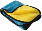 Car Care Accessories- Ręcznik do osuszania blue-yellow 80x50cm