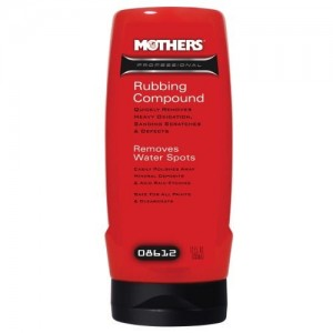 Mothers Professional Rubbing Compound 355 ml - pasta polerska do usuwania rys i zmatowień
