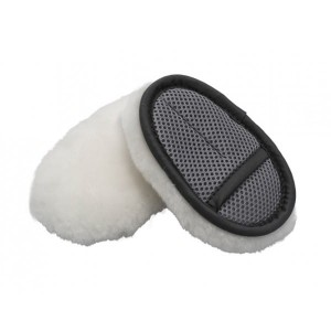 FLEXIPADS Finger Merino Soft Wool Wash Mitt