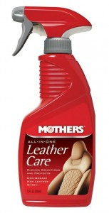 MOTHERS ALL IN ONE LEATHER CARE 355 ML - CZYŚCI I ODŻYWIA SKÓRĘ