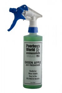 POORBOY'S WORLD AIR FRESHENER - GREEN APPLE 473ML