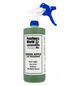 POORBOY'S WORLD AIR FRESHENER - GREEN APPLE 946ML
