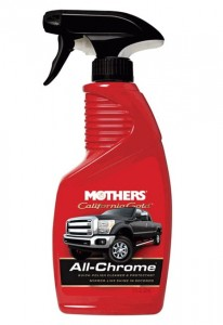Mothers All-Chrome Quick Polish 355ml