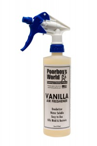 POORBOY'S WORLD AIR FRESHENER - VANILLA 473ML